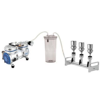 Combinación de dispositivo de filtración de vacío múltiple